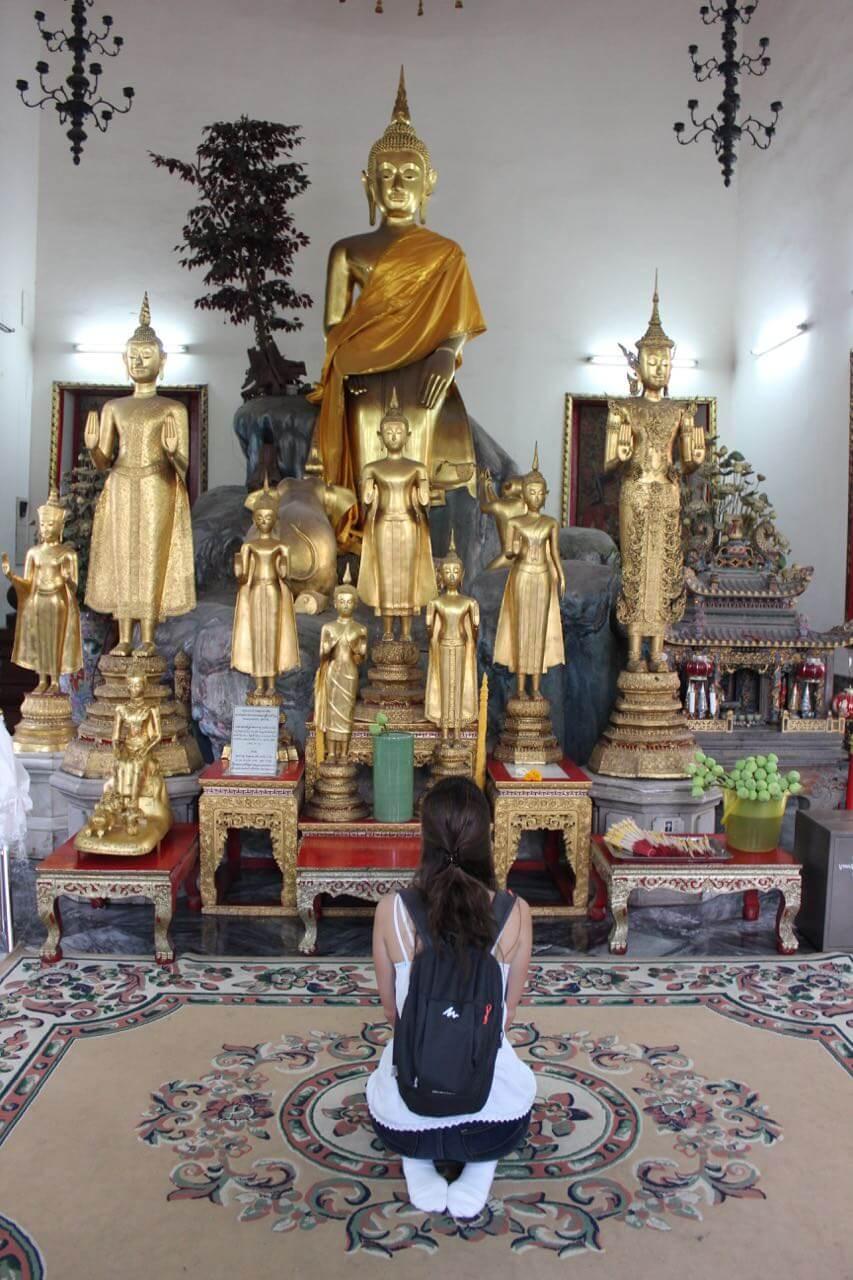 Mari budista em Wat Pho