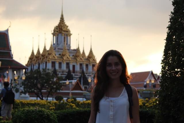 Fim de tarde em Bangkok