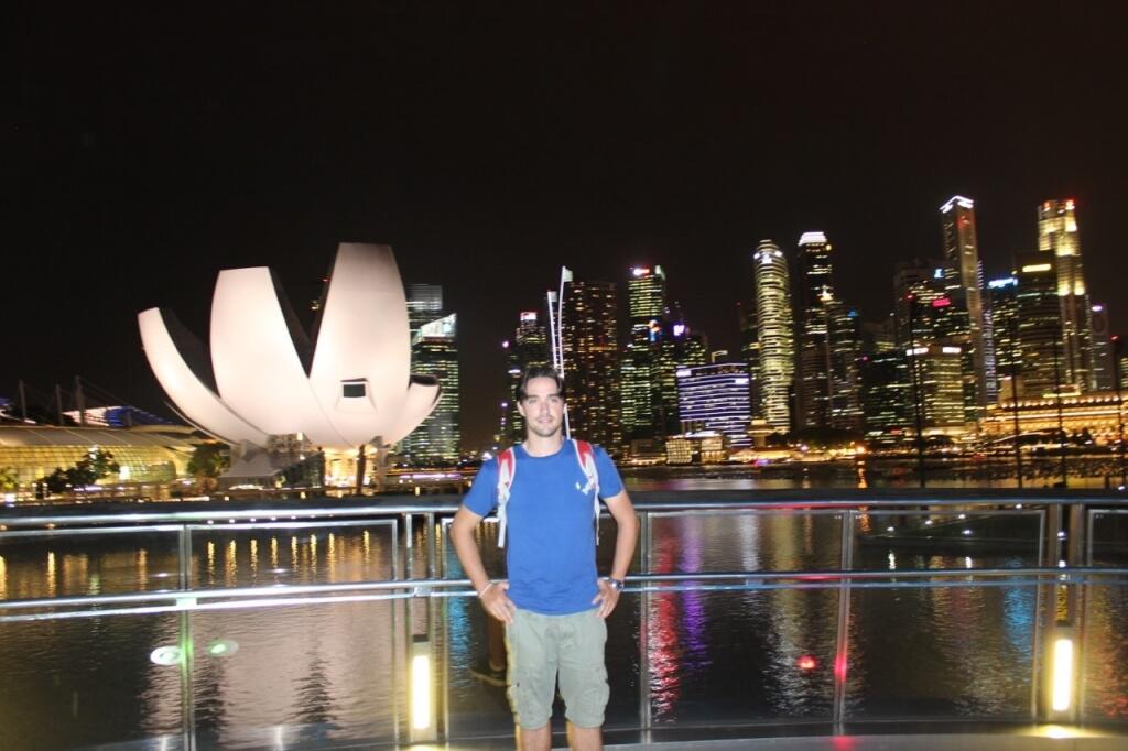 Singapura à noite